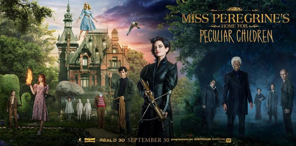 Poster for Miss Peregrines Home for Peculiar Children