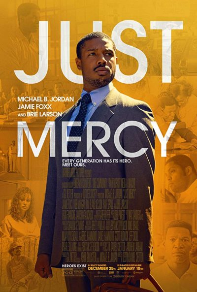 "The theatrical poster for ""Just Mercy"""