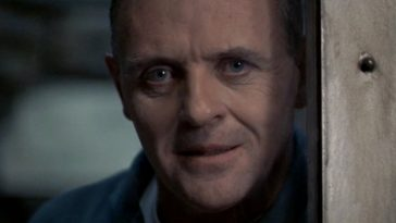 Dr Lecter in his cell