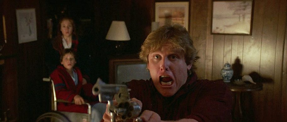 Gary Busey, Corey Haim, and Megan Follows in Stephen King's Silver Bullet