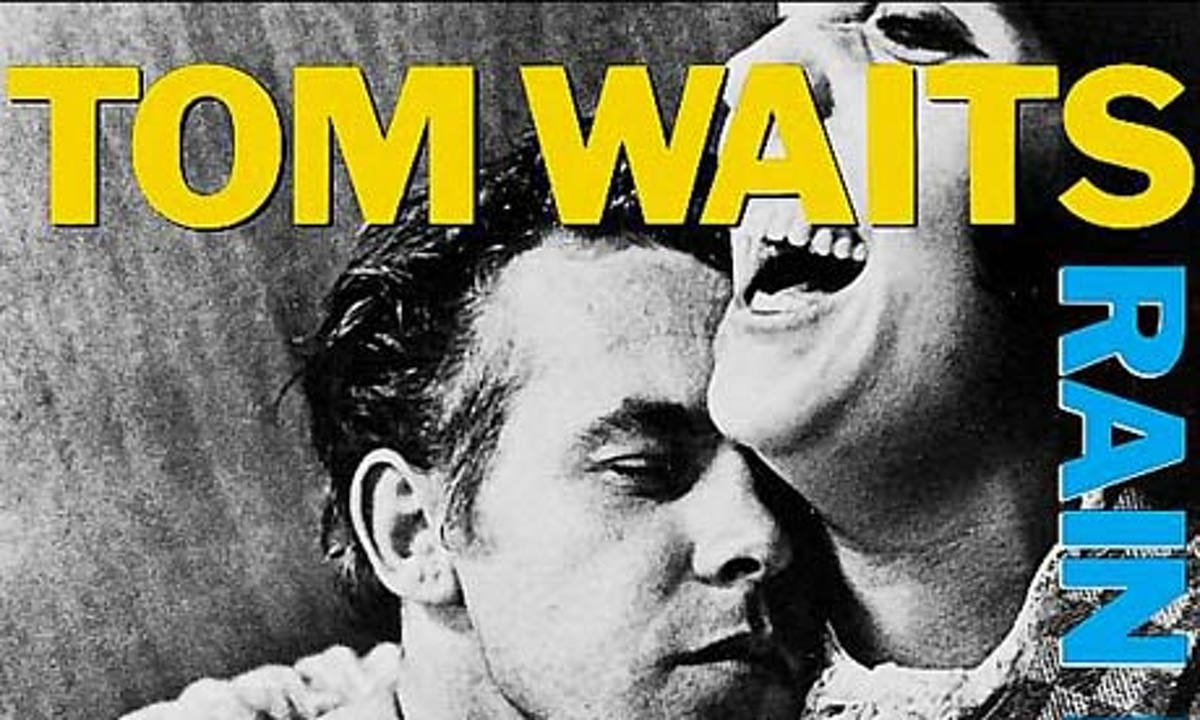 Tom Waits Rain Dogs Album Cover