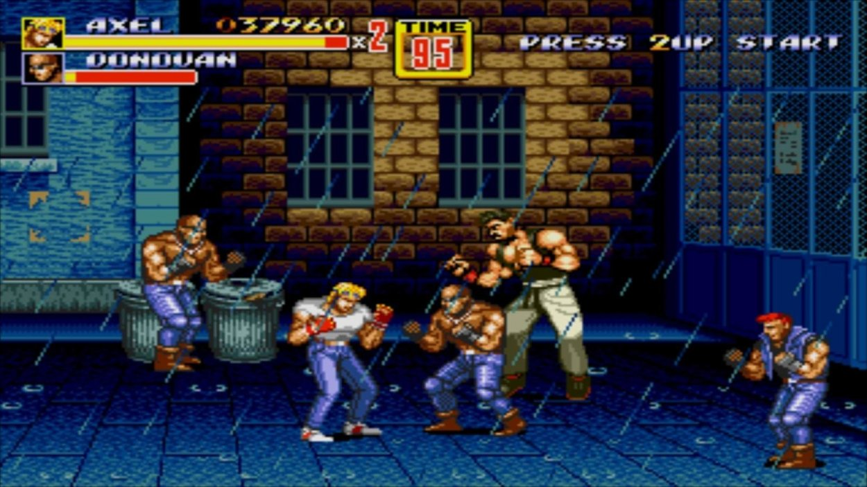 Characters in Streets of Rage 2