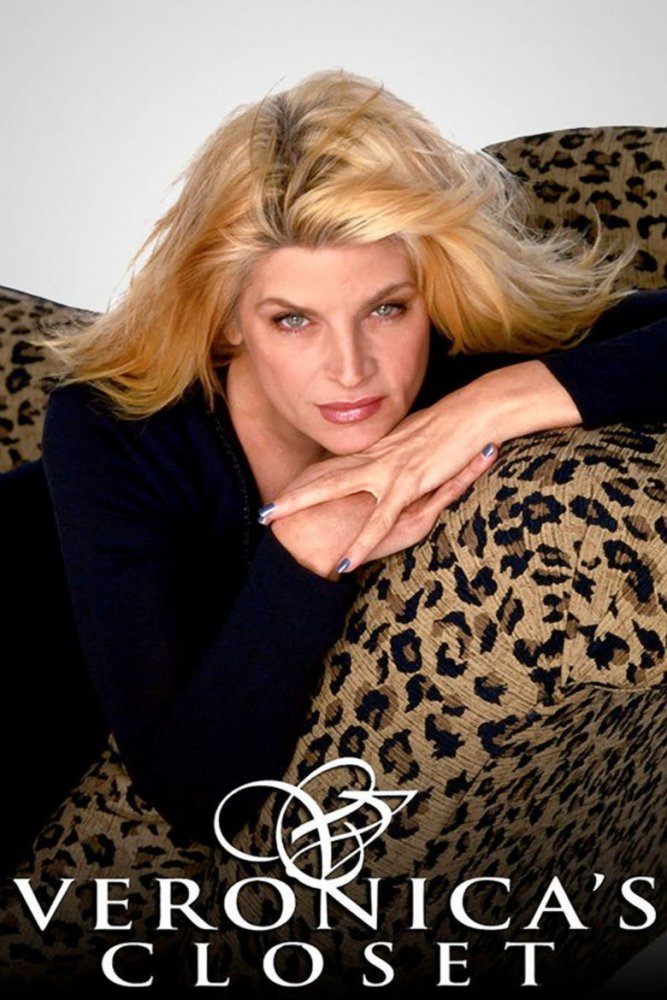Kirstie Alley in a promo image for her sitcom Veronica's Closet