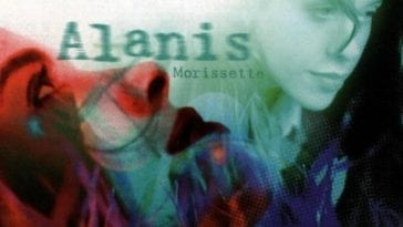 Alanis Morissette Jagged Little Pill Album Cover