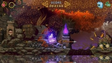 A screenshot from Battle Princess Madelyn.