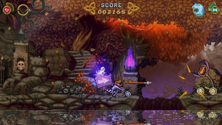 A screenshot from Battle Princess Madelyn.
