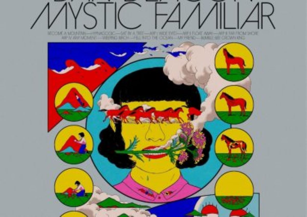 The psychedelic cover of Dan Deacon's Mystic Familiar