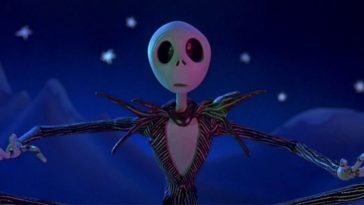 Jack Skellington looking surprised