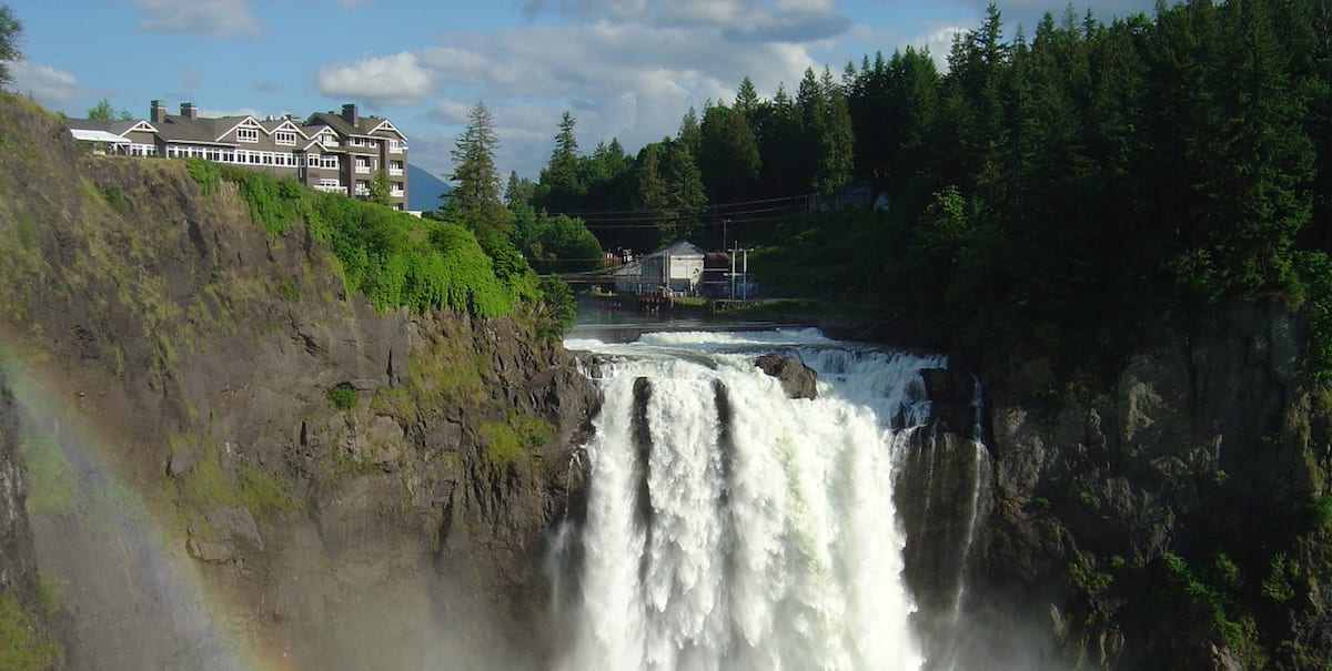 Snoqualmie Falls and the Salish Lodge