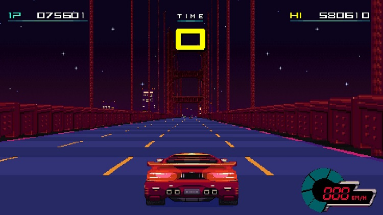The Getaway level ends with you running out of time as you attempt to cross the bridge into the fabled City.