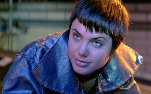 Angelina Jolie as Kate Libby in Hackers