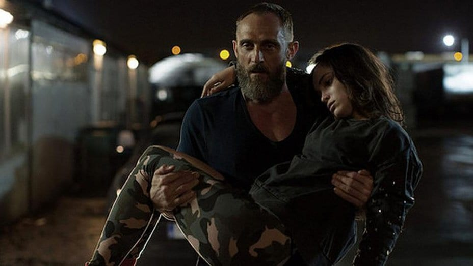 Danny carries Clara to safety