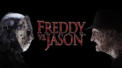 Jason Vorhees and Freddy Kreuger facing each other