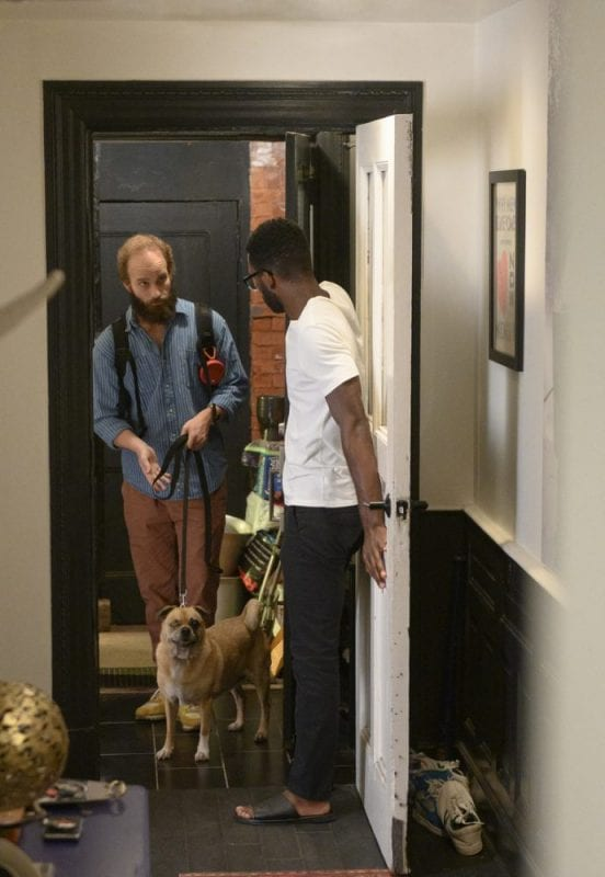 The Guy and Fomo arrive at Matthew's apartment