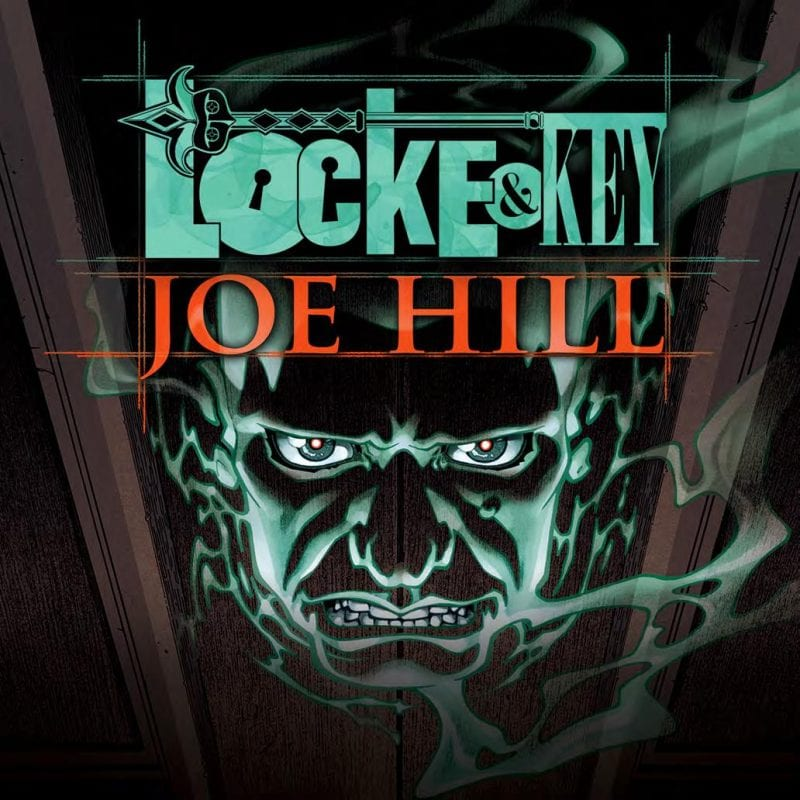 Cover Art for Audible's Locke & Key