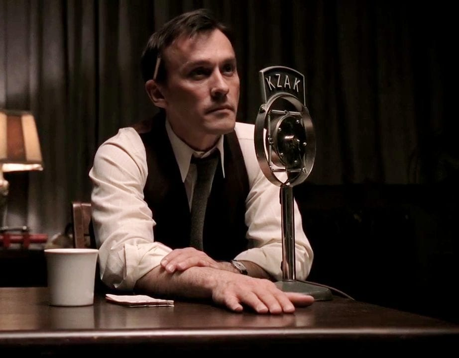 Tom Dolan played by Robert Knepper, a radio show host in Carnivale