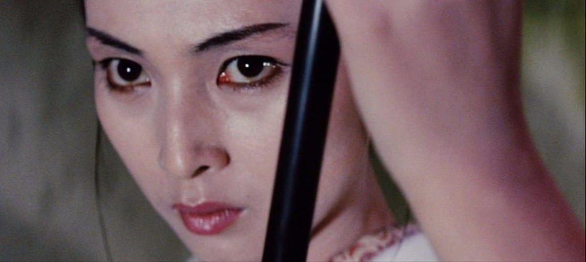 Close-Up of Yuki's face