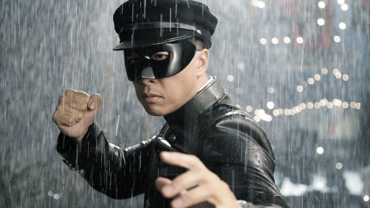 Donnie Yen in full Kato Costume