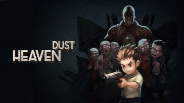 The promotional art for Heaven Dust.