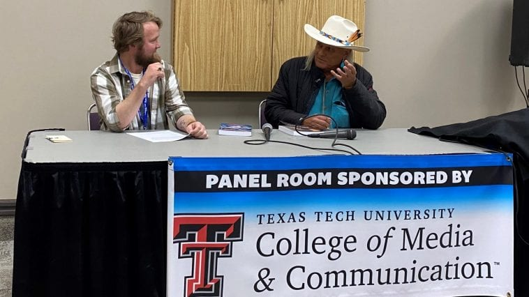 25YL Host and Actor Michael Horse at Lubbock-Con Panel