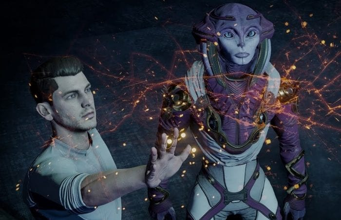 A new cast of characters of human and alien race make up the cast of Mass Effect: Andromeda