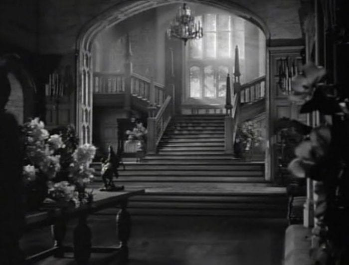 The interior of Manderley in Rebecca
