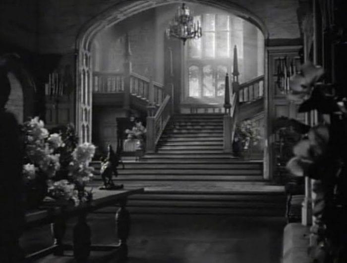 The interior of Manderley in Rebecca