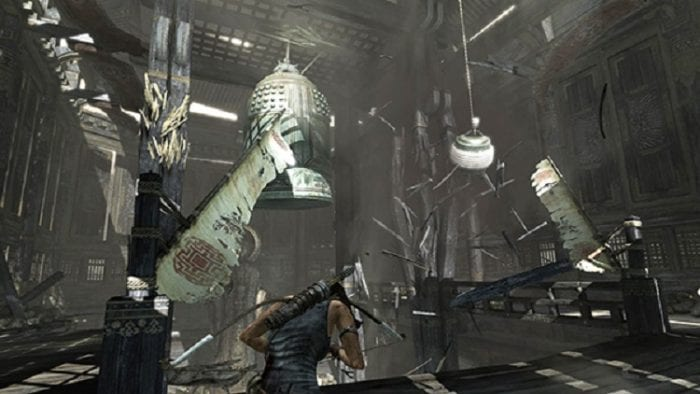 Tomb Raider, as played on PS3, still looks gorgeous
