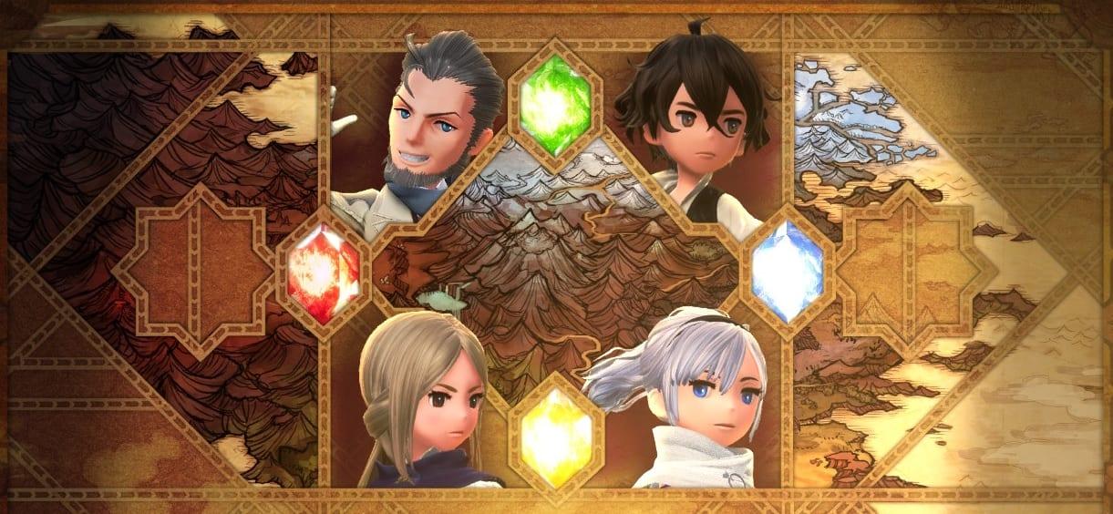 4 Crystals. 4 Heroes. 4 Elements. Blah blah blah.