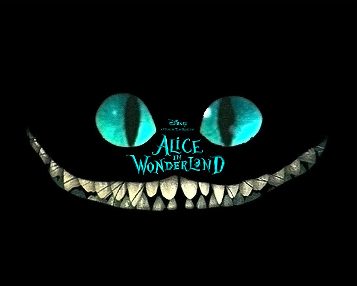 The Cheshire Cat shines in a new light in Tim Burton's unique adaptation of a Disney classic.
