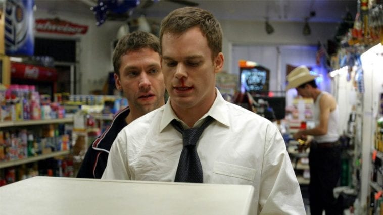Jake takes David to an ATM at gun point