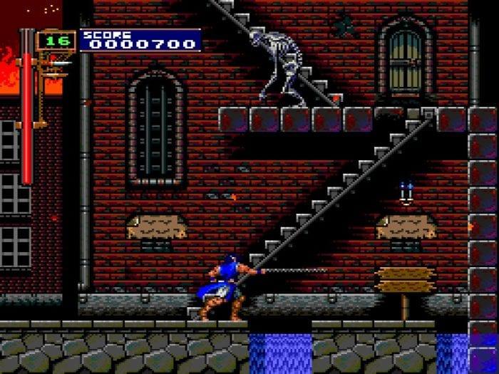 Richter enters the town of Aljiba