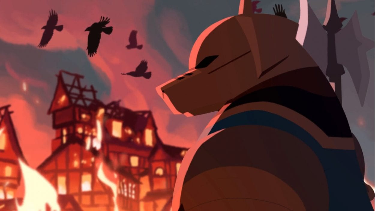Armello, the anthropomorphic armadillo.