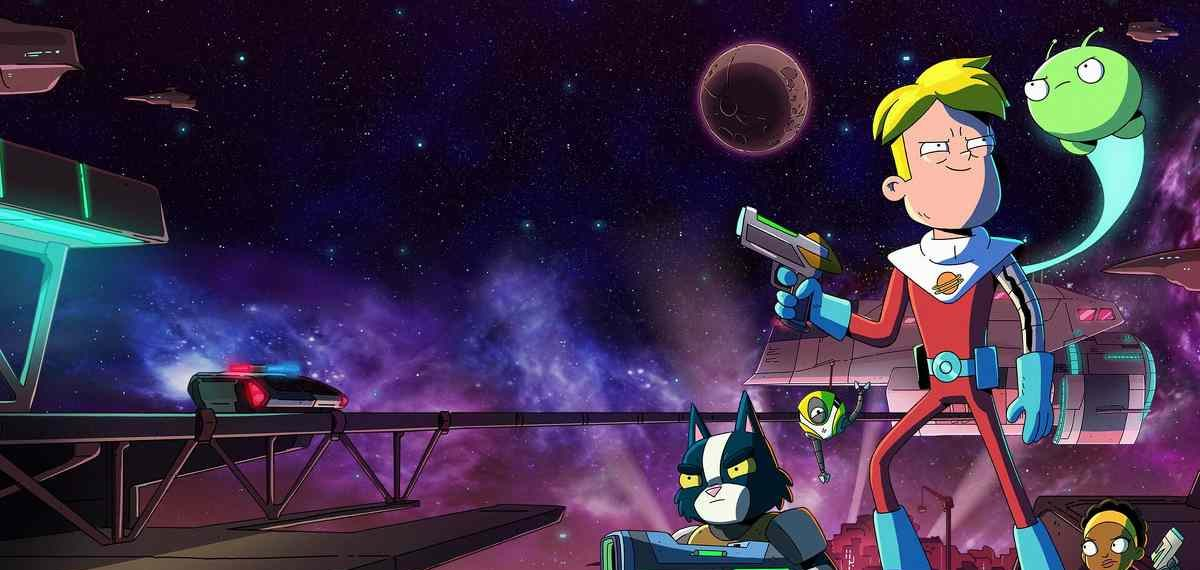 Characters in outer space in Final Space