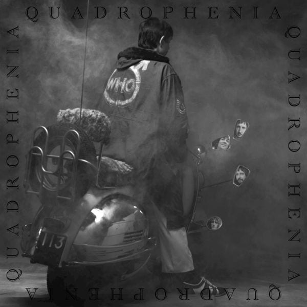The album cover for Quadrophenia by The Who