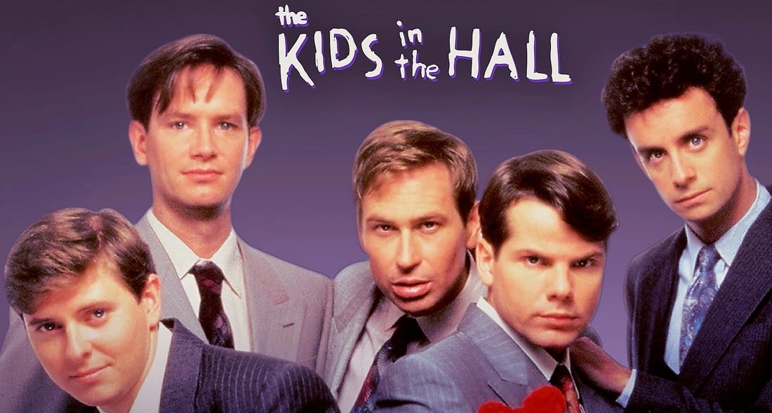 The cast of Kids In the Hall