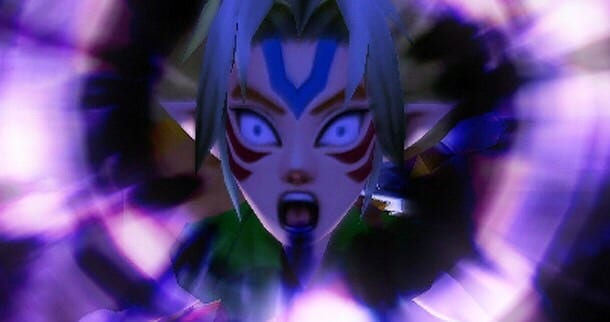 Link transforms into a Fierce Deity