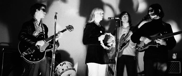 The VU & Nico performing