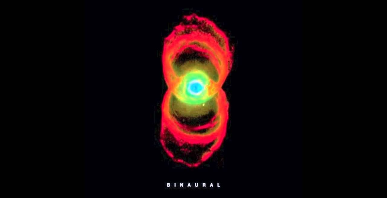 Pearl Jam's Binaural album cover