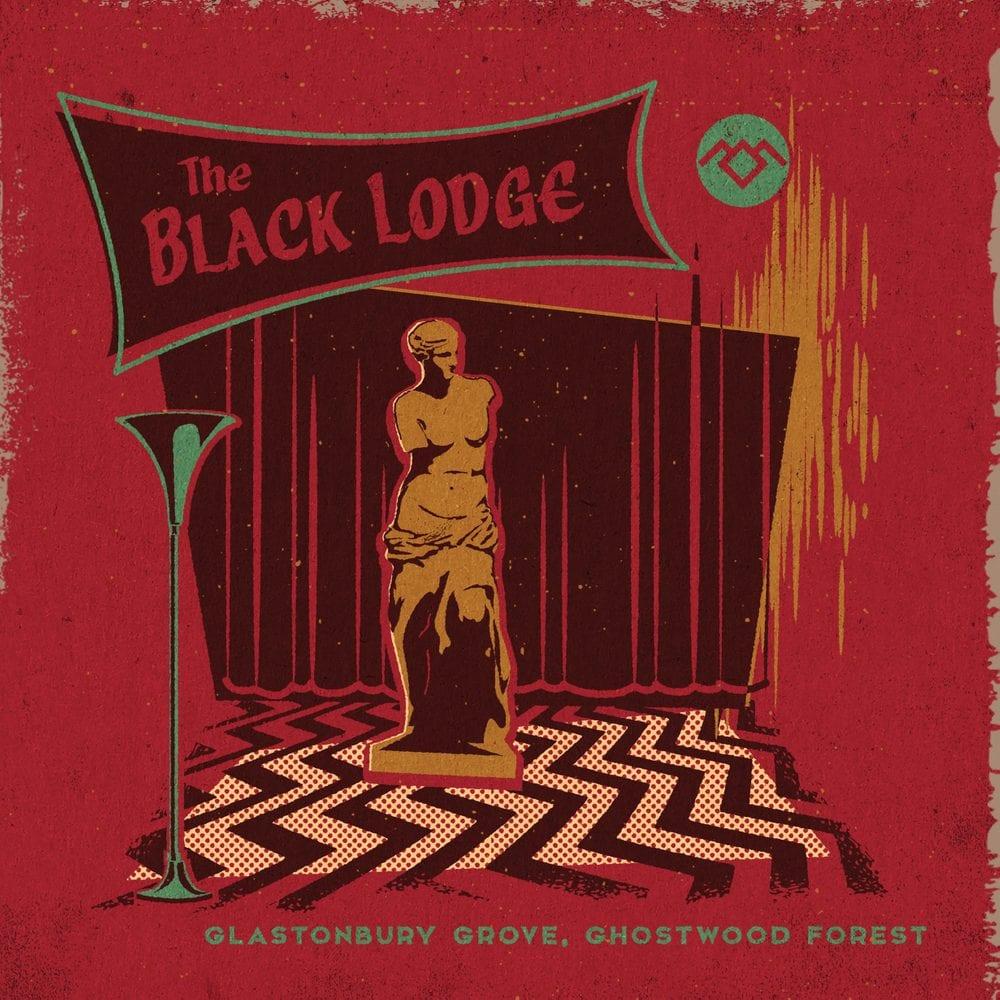 Illustration of the Black Lodge by Steven Rhodes
