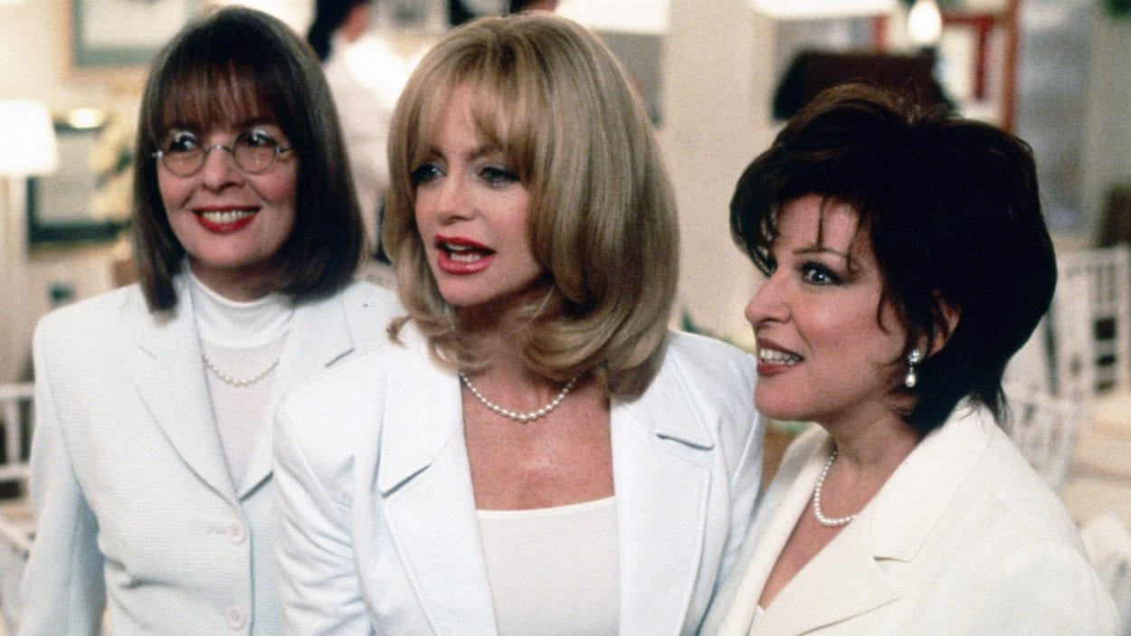 The comradery of women in The First Wives Club