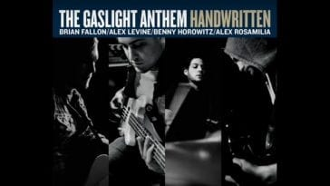 Gaslight Anthem Handwritten album cover