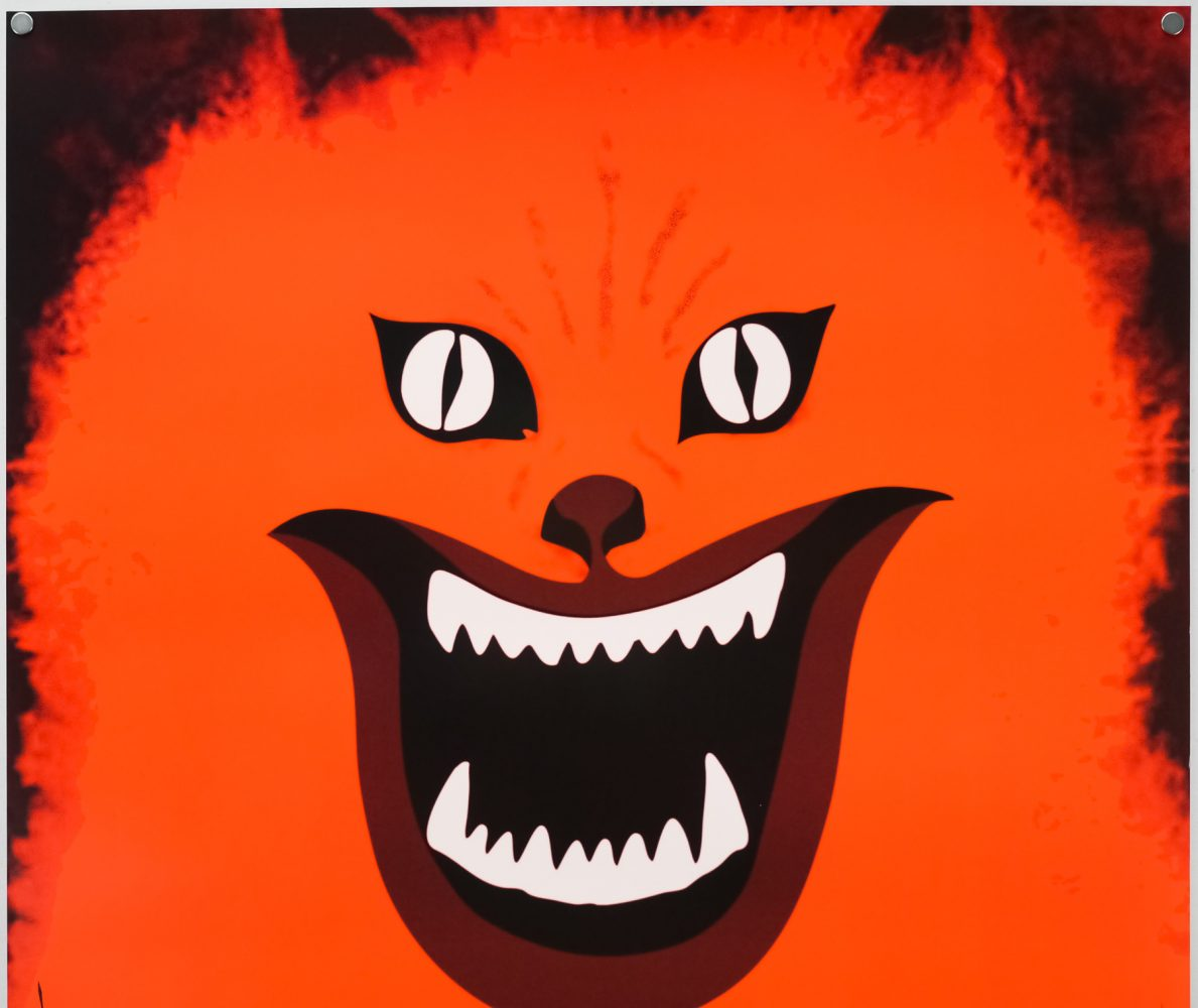 The screaming cat of Hausu.