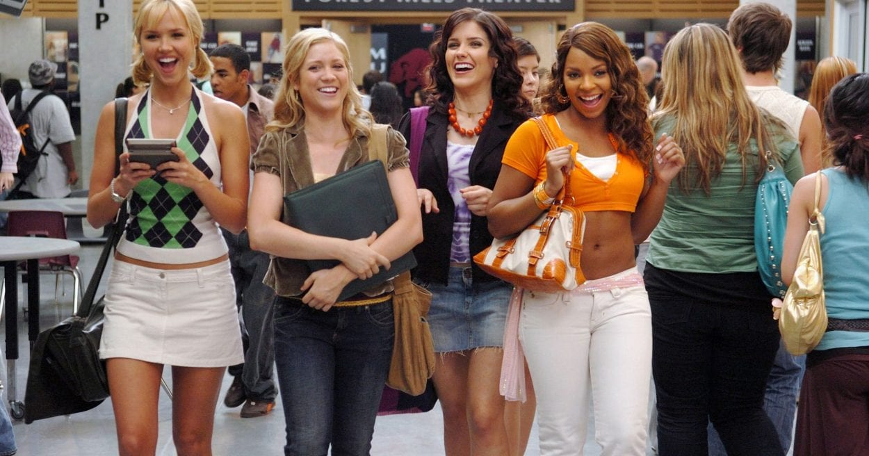 The band of other women in John Tucker Must Die