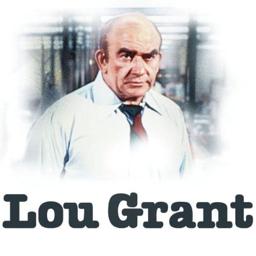 Lou Grant series title card