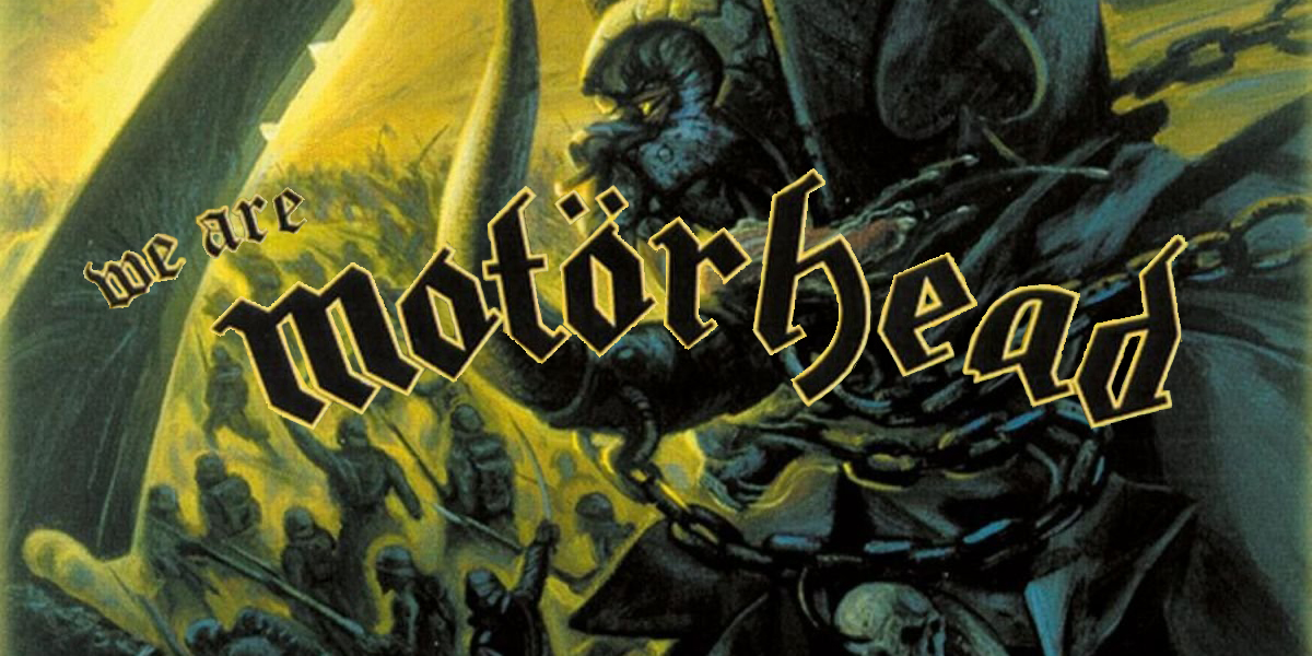 We are Motorhead album cover