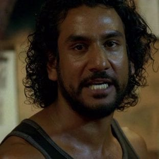 Sayid with a very intense look