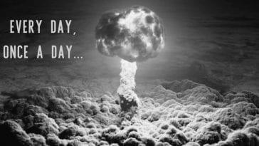 the Trinity Bomb explosion