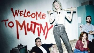 The cast of AMC's Halt and Catch Fire in a promo photo