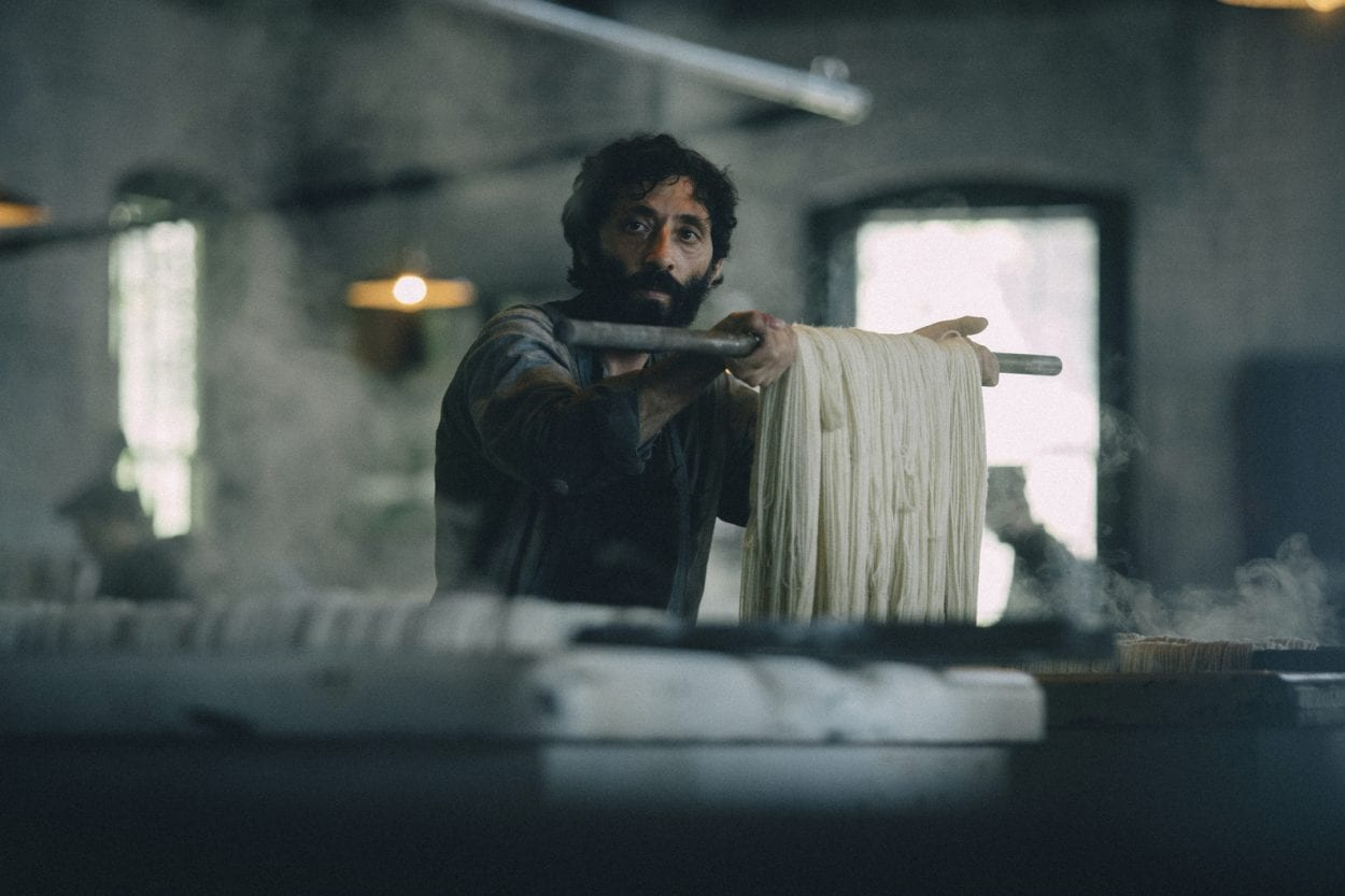 Domenico works in a factory